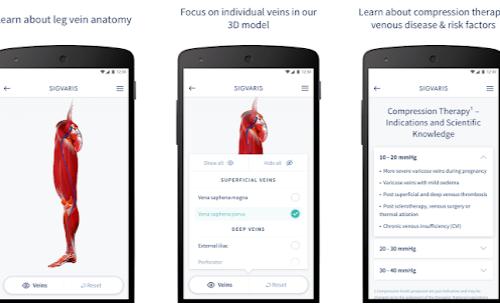 Nieuw: De SIGVARIS App